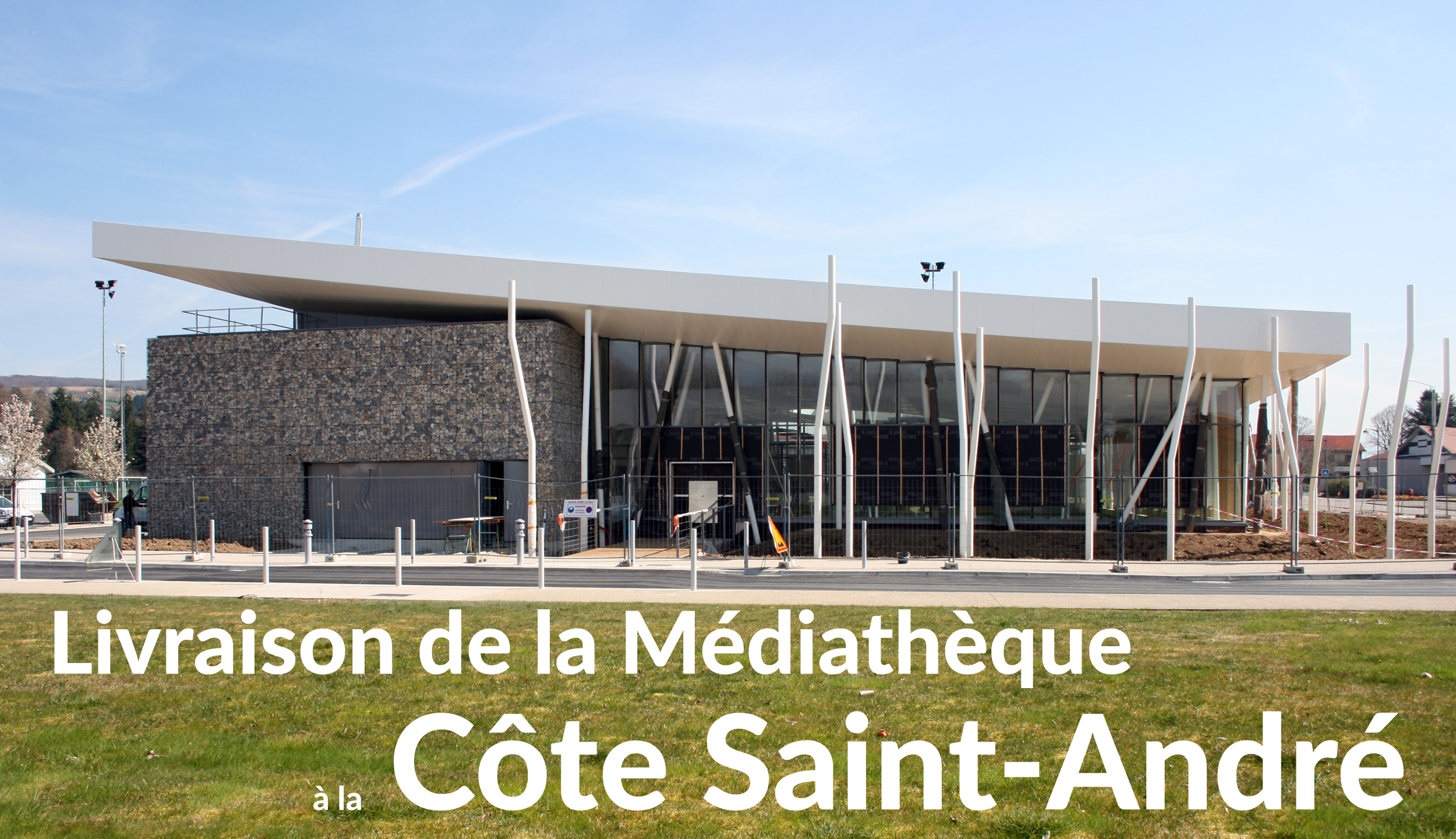 Livraison de la m diath que la c te saint andr cr on for Piscine la cote st andre